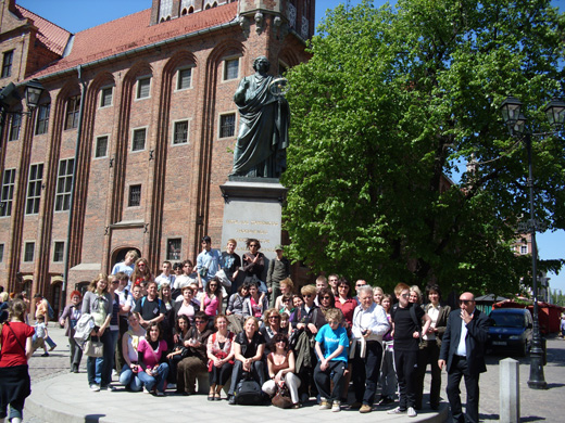 Students in Comenius Project visiting Poland